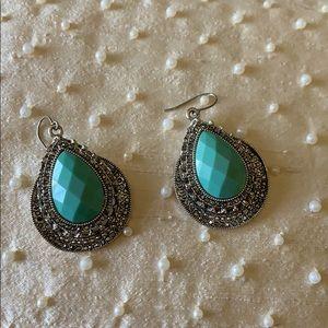 Beautiful turquoise earrings